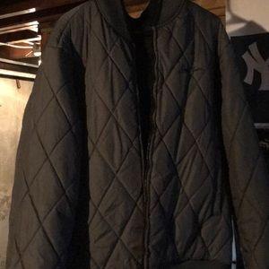 Men's reversible Sean John bomber coat. Size XL